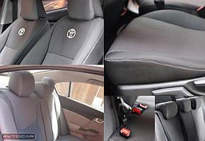 Чехлы Volkswagen Golf 6 + с 2009-2012 салон: раздельная задн. спинка  подкладка: войлок