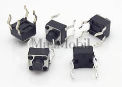 Кнопка тактовая 4.5x4.5x4.3 мм DIP 4-pin BD12
