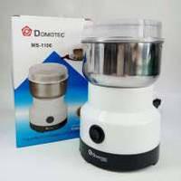 Кофемолка металлическая Domotec MS-1106 150W, для измельчения кофе, орехов, сухих бобов и зерновых культур