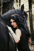 Репортажная фотосессия с лошадью