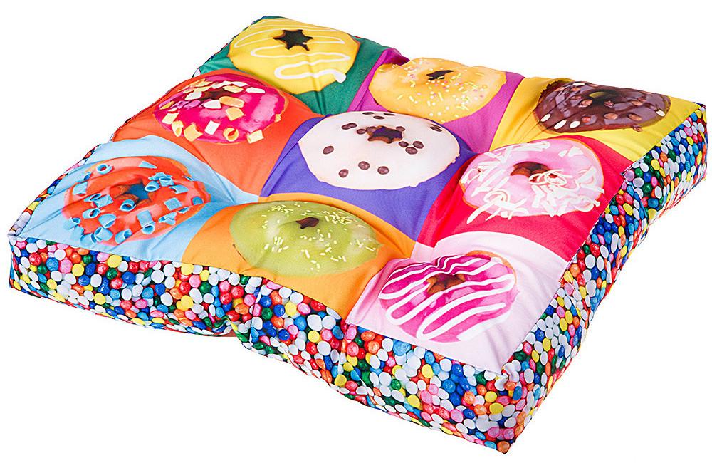 Ferplast LOVE DONUTS Двустронняя подушка лежак для собак и кошек