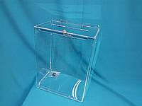 Коробка из оргстекла для пожертвований 2,5л 210_150_80 А5 формат