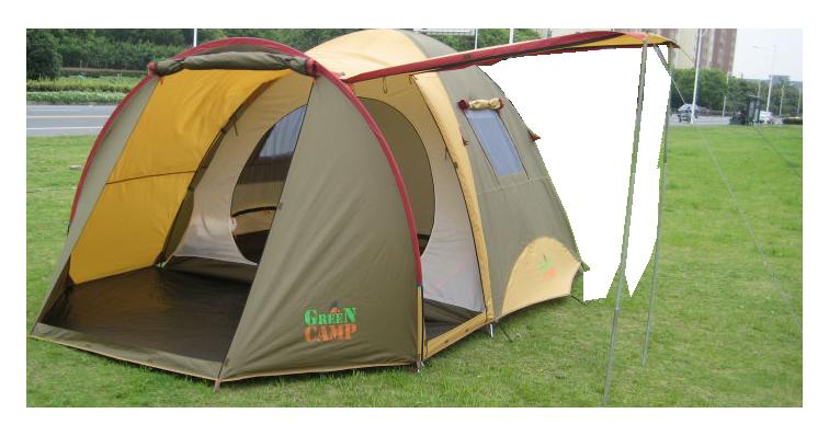 Чотиримісна намет Green Camp GC1036