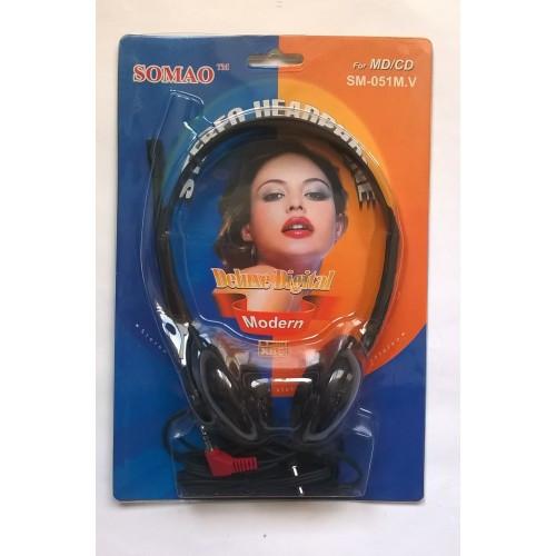 Наушники с микрофоном Somao-SM051