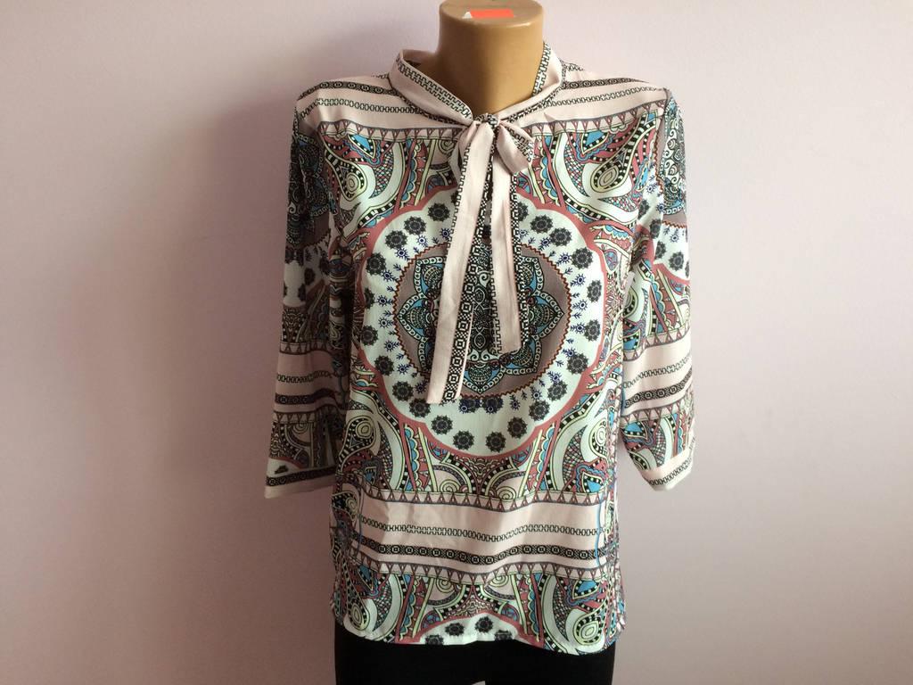 Блузка цветная