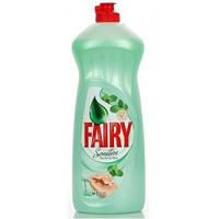 Жидкое средство для мытья посуды Fairy Sensitive (Мята) 1л