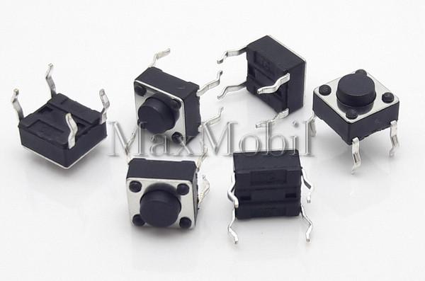 Кнопка тактовая 6 X 6 X 4.3 мм DIP 4-pin BD15