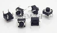 BD16 Кнопка тактовая DIP 4-pin 6 X 6 X 5 мм