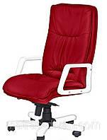 Кресло Палермо Экстра, механизм Anyfix Белый Неаполь-36 Красный.