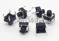 BD17 Кнопка тактовая DIP 4-pin 6 X 6 X 6 мм