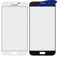 Стекло корпуса для Samsung A800F Dual Galaxy A8, оригинал, белое