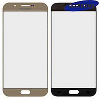 Стекло корпуса для Samsung A800F Dual Galaxy A8, оригинал, золотистое