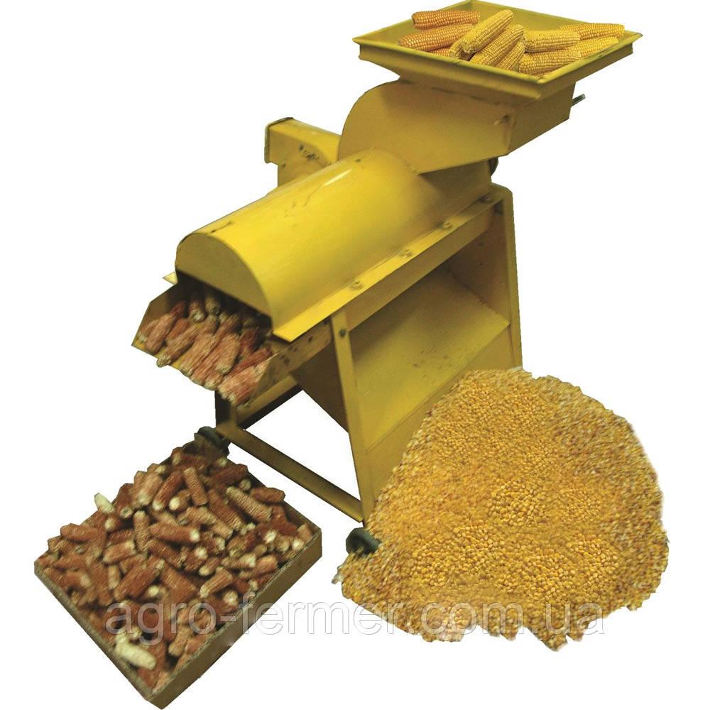 """Молотилка кукурузных початков 5TY-4.5 Д (с двигателем) - Интернет-магазин садовой техники """"Agro-Fermer"""" в Чернигове"""