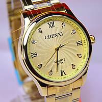Мужские часы CHENXI CX-013G Gold