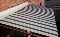 Установка, ремонт крыши балконов