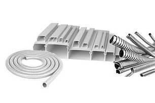 Прокладка кабеля (короб, гофра, металлорукав)