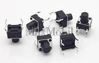 BD18 Кнопка тактовая DIP 4-pin 6 X 6 X 7 мм
