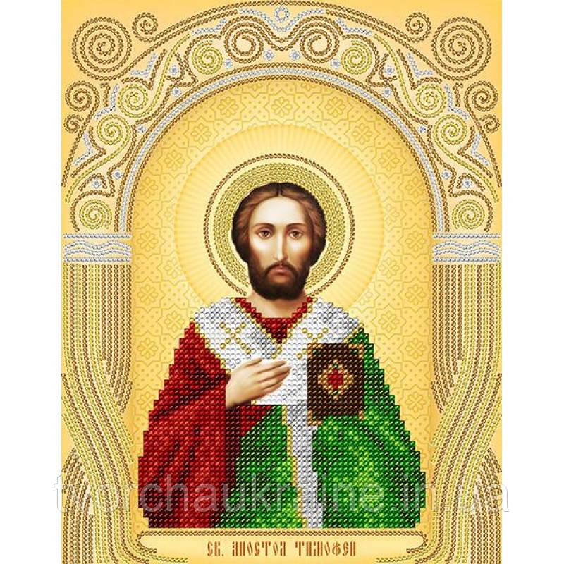 Схема на ткани для вышивания бисером Св. Апостол Тимофей