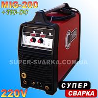 Сварочный полуавтомат СПИКА multi MIG 200