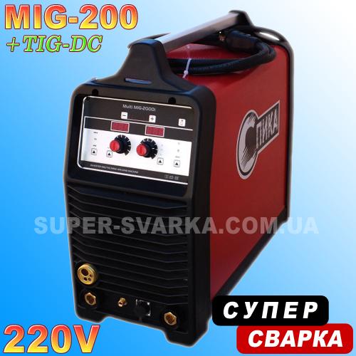 Сварочный полуавтомат СПИКА multi MIG 200, фото 1