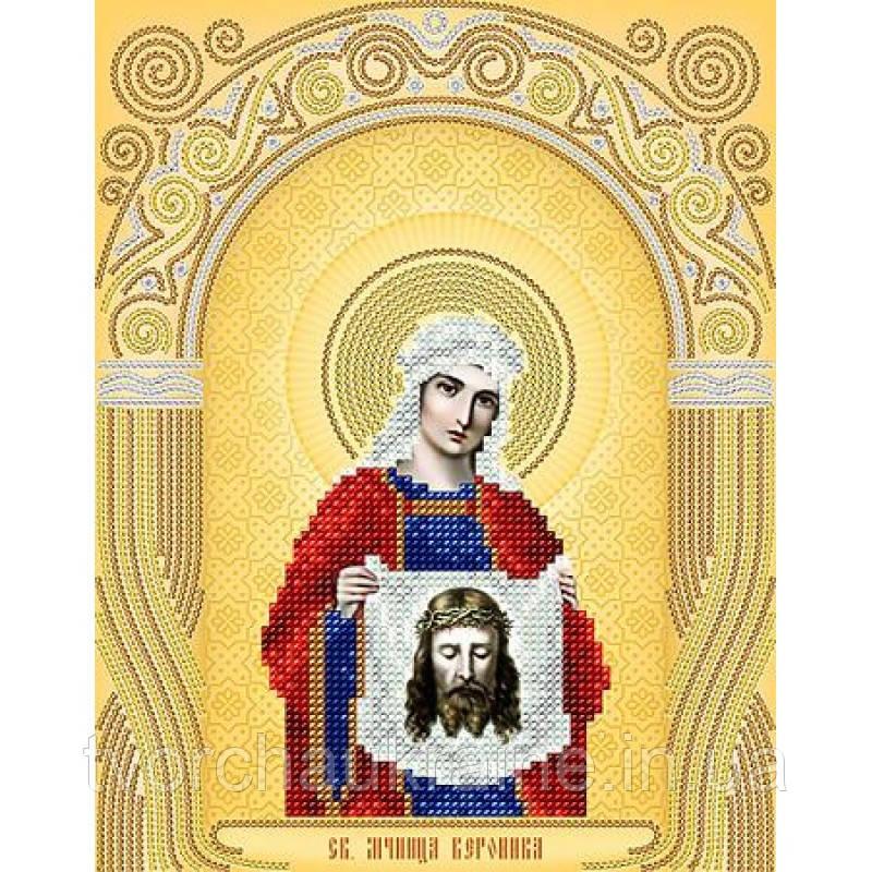 Схема на ткани для вышивания бисером Св. Мученица Вероника