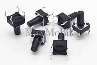 BD19 Кнопка тактовая DIP 4-pin 6 X 6 X 10 мм