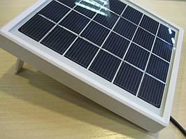 Солнечное ЗУ 5V 2W выход  кабель 1m, штекер microUSB