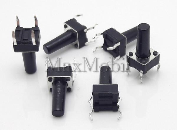 Кнопка тактовая 6 X 6 X 12 мм DIP 4-pin BD20