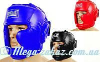 Шлем боксерский с полной защитой Elast 3954 (шлем бокс): 3 цвета, S/M/L