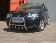 Кенгурятник на Volkswagen Touareg с грилем