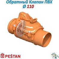 Обратный клапан ПВХ д110 PESTAN (Сербия)