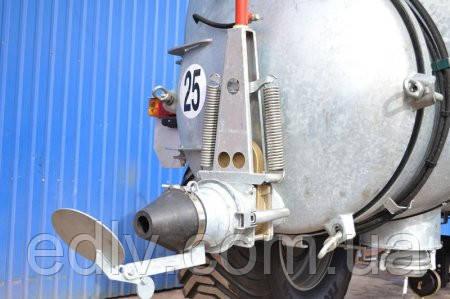 Цистерна для воды и жидких органических удобрений, объем 12м,3 для установки на кузов грузового автомобиля - ТОВ ВТК Єдельвейс в Харькове