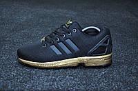 Кроссовки женские Adidas Zx Flux Black Copper