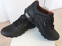 Кожаные весенние мужские туфли