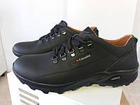 Весенне осенние мужские кожаные туфли