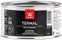 Термал - черная силиконовая краска 0,333л. Termal. жаростойкая краска. Термостойкая краска 400°C