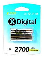 Аккумулятор XDigital HR6 AA Ni-MH 2700 mAh