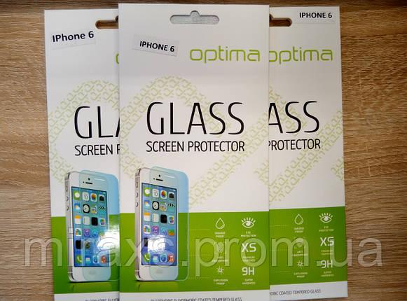 Защитное стекло для iPhone 6/6s, 0.26 мм прозрачное, фото 2