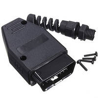 Универсальный 16-контактный obd2 разъем Plug адаптер диагностический