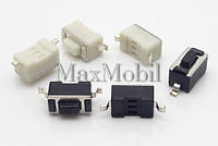 BS01 Кнопка тактовая SMD 2-pin 3.4х6х4.3 мм