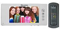 Комплект из семи дюймового видеодомофона PC-744R0 и вызывной панели высокого качества, фото 1