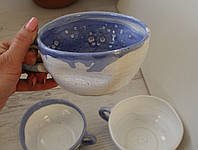 Чашки Голубая Глазурь