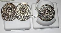 Комплект ювелирных изделий из серебра Версаче
