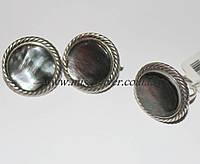 Комплект ювелирных украшений из серебра Рита