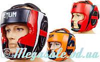 Шлем боксерский с полной защитой Venum 5339 (шлем бокс): 3 цвета, M/L/XL