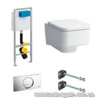 Комплект инсталяции Viega 606688 + унитаз Laufen 8.2096.1