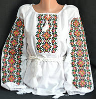 Женская вышиванка с оригинальной вышивкой