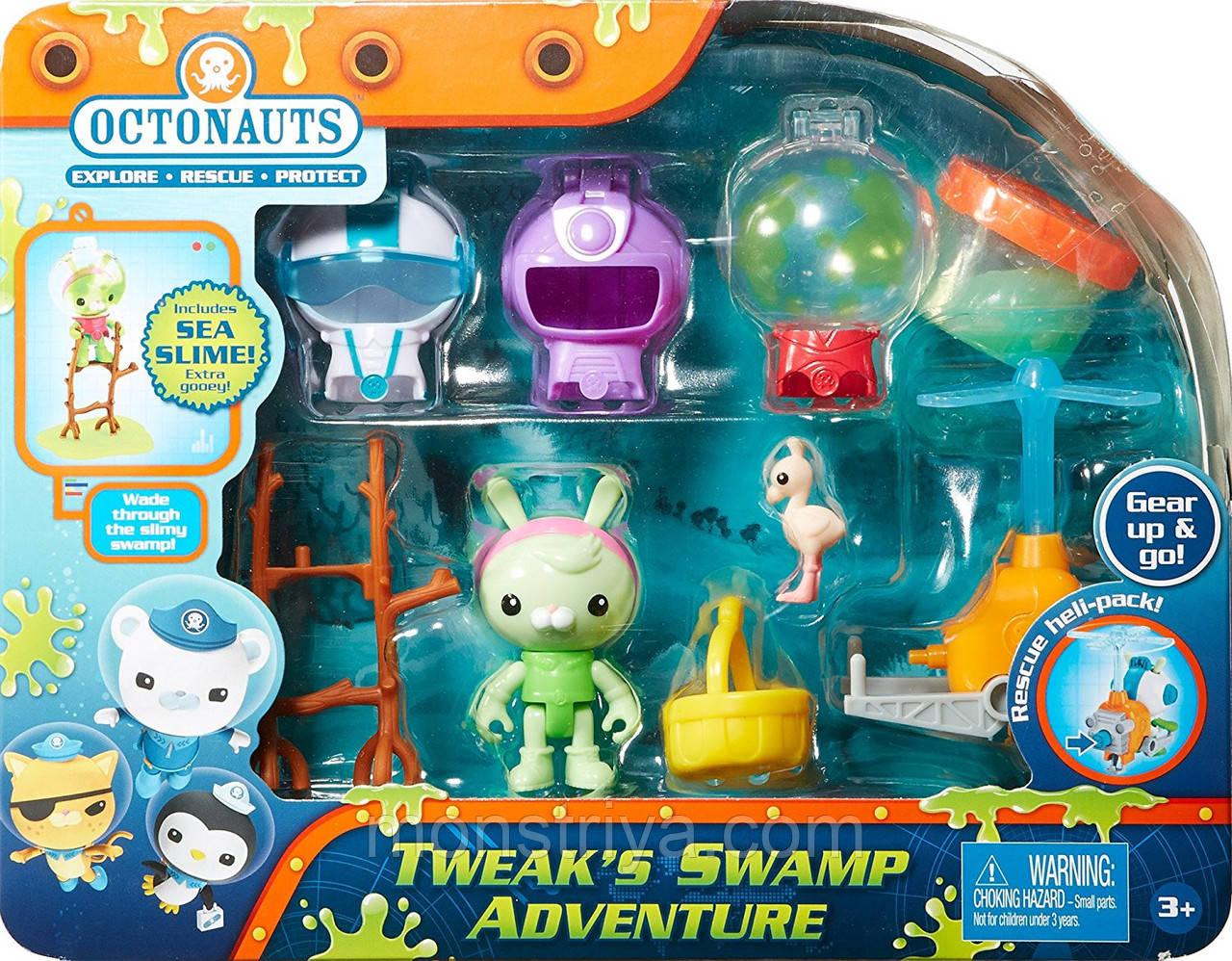 """Игровой набор кролик Tweak с аксессуарами Октонавты"""" Fisher-Price Octonauts"""