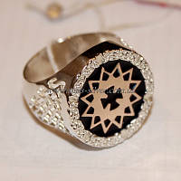 Перстень мужской звезда Эрцгаммы