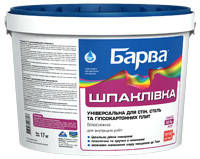 Шпатлевка для стен, потолков, универсальная Барва SP-17 1,5 кг